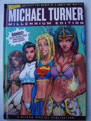 Wizard Michael Turner Millennium Edition Hardcover HC Book Signed Ltd 299